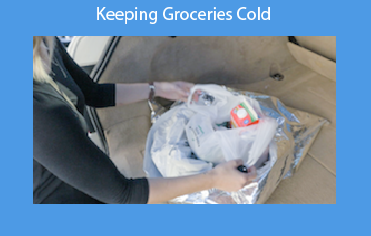 Keeping Groceries Cold